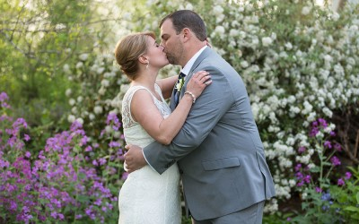 Sweet Springtime Weekday Elopement at the Clifton Inn (Beth & Brian)