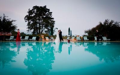 Keswick Hall Small Weekday Wedding (Lori & David)