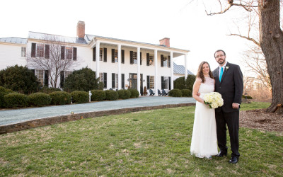 Jennifer & Kent at the Clifton Inn